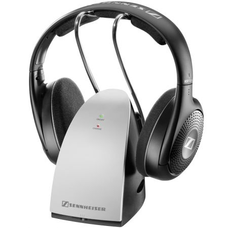 Casti audio wireless Sennheiser RS 120-8 II, Negru