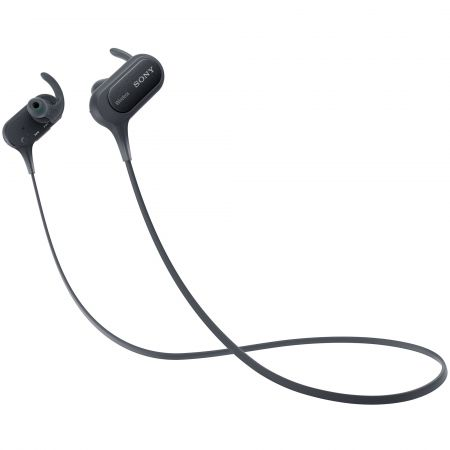 Casti audio sport In-ear Sony MDRXB50BSB, Wireless, Bluetooth, NFC, EXTRA BASS