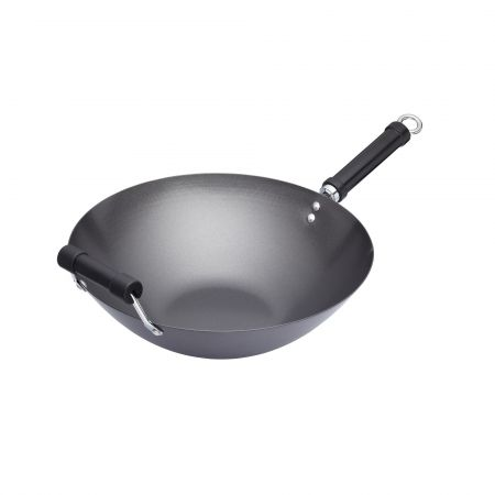 Tigaie wok 35 cm - Kitchen Craft