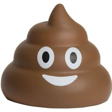 Jucarie Squishy Brown Poo 8,5 cm KidzToyz