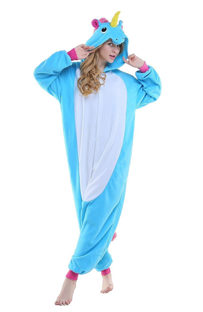 Pijama Salopeta Unicorn, One Size