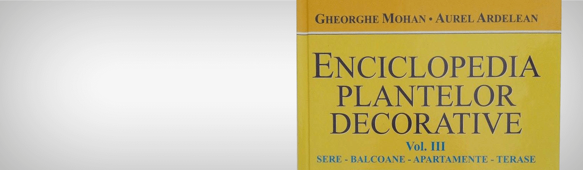 Enciclopedia plantelor decorative Vol 3