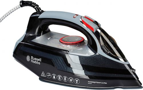 Fier de calcat Russell Hobbs Power Steam Ultra 20630-56, Talpa Ceramica, 3100W, 0.35l (Negru)