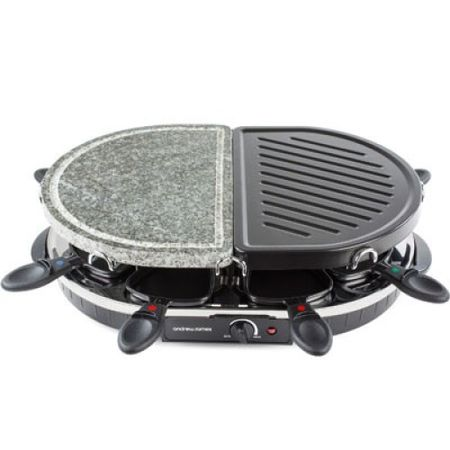 Gratar electric Traditional si cu Piatra Andrew James Raclette AJ000373