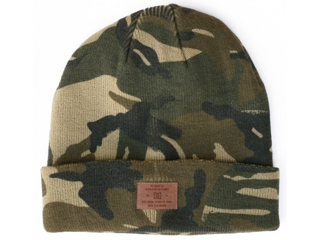Caciula DC Label Woodland Camo