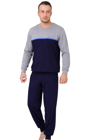 Pijamale Barbati, Model Extreme Life Style Blue, M-M Max