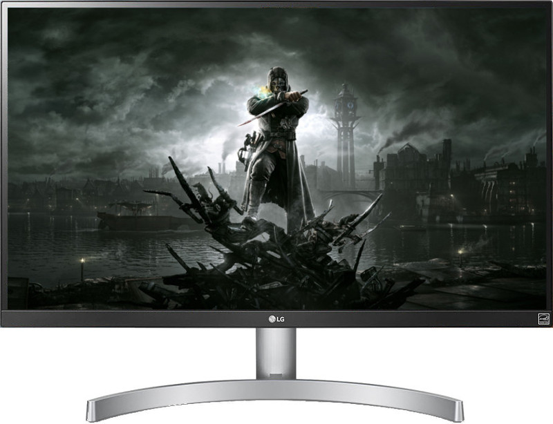 Monitor LED LG Gaming 27UK600 27 inch 4K HDR 5 ms Silver-White FreeSync