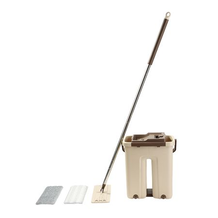 Set curatenie Kring Magic Clean, galeata cu storcator si rezerva mop