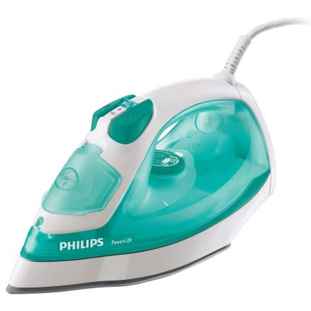 Fier de calcat Philips EasySpeed Plus GC2048/30, Talpa ceramica, 2300 W, 0.27 l, 120 g/min, Alb/Mov