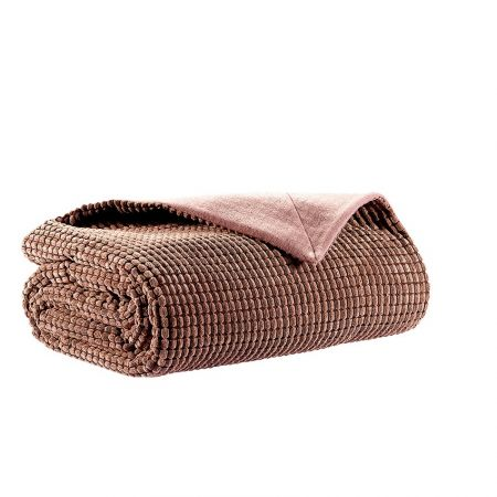 Patura Royal Textile Noples Soft Touch, micropercal, 130x160 cm, Taupe