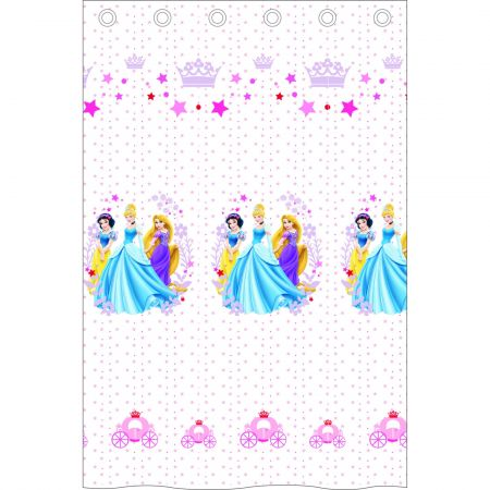 Perdea Princess alb 140x240 cm, Disney - camera fetitei