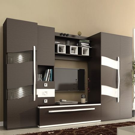 Set living, Geneva, wenge, pal maro