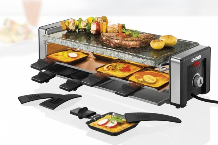 Grill electric Unold Raclette u48765