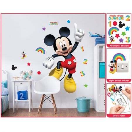 Sticker/Tapet Walltastic - Sticker Mare Mickey Mouse
