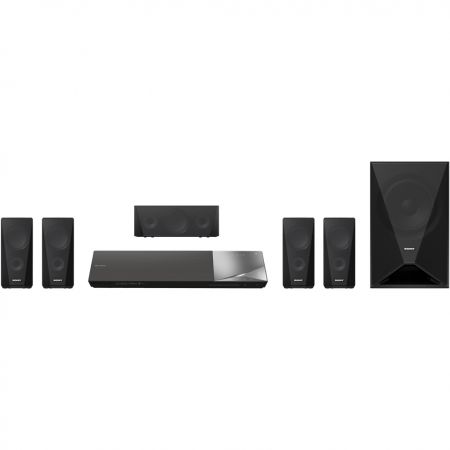 Sistem Home Cinema Sony BDV-N5200WB, 3D Blu-Ray, Wi-Fi, Bluetooth, NFC