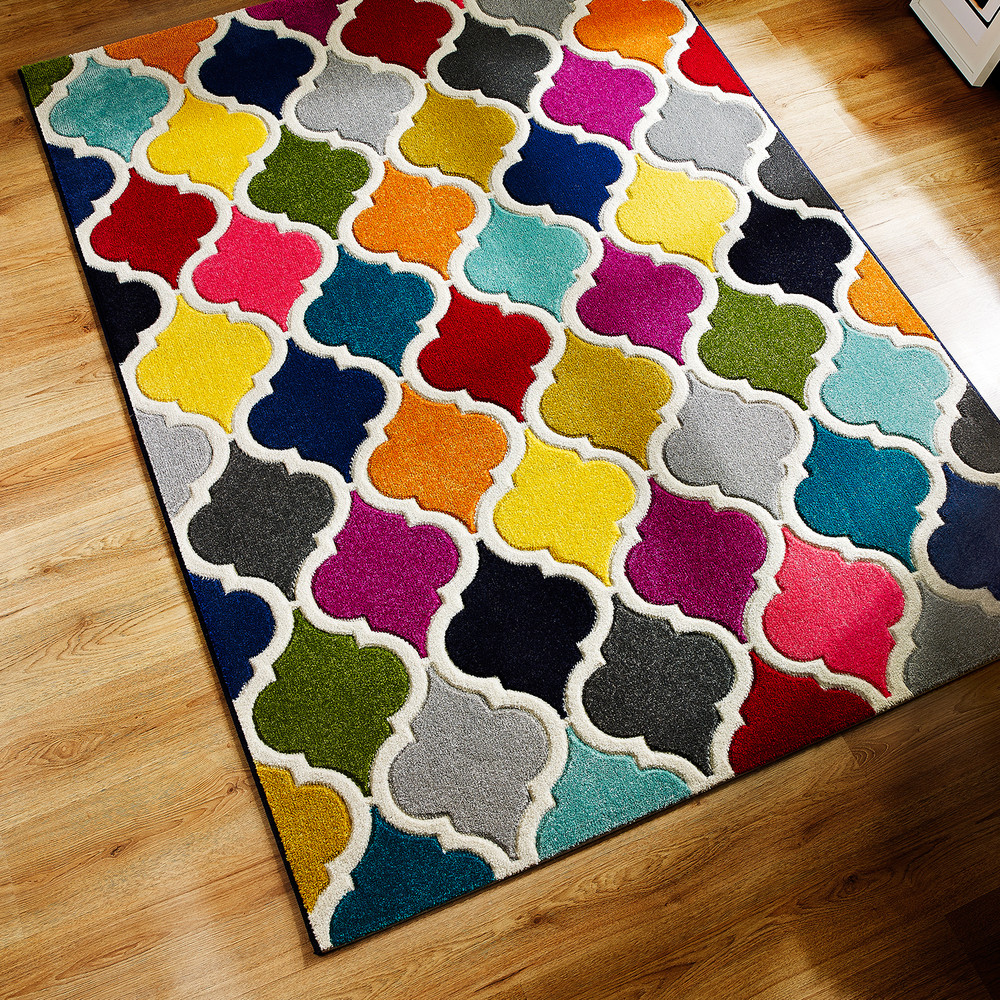 Covor colorat Flair Rugs Spectrum Limbo Multi, 160x230 cm
