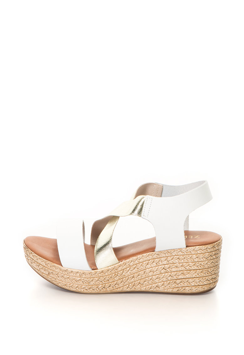 Sandale wedge tip espadrile Alice